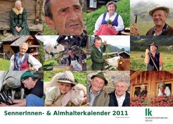 SennerInnen- & Almhalterkalender 2011