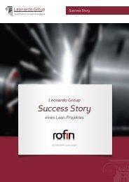 Success Stories Rofin Sinar Laser GmbH - LEANmagazin.de