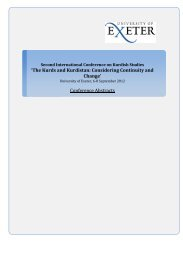 Combined Abstracts from Conference - College of Social Sciences ...