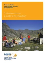 European Charter for Sustainable Tourism in Protected Areas - Parks.it