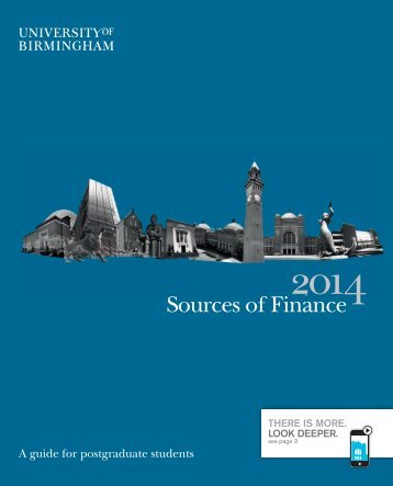 Postgraduate sources of finance 2013-14 (PDF - 735KB)
