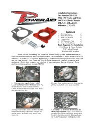 Parts List Installation Instructions Part Number 200-512-1 99 ... - Airaid