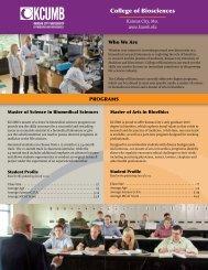 Download Fact Sheet - KCUMB-COB (PDF) - Kansas City University ...