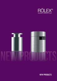 NEW PRODUCTS - RÖLEX Ventile Produktion GmbH