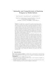 Optimality and Competitiveness of Exploring Polygons by Mobile ...