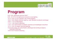 Program - InfinIT