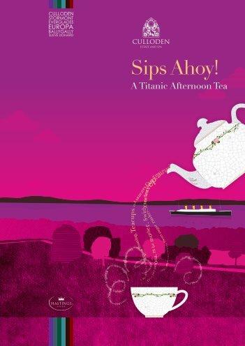 Sips Ahoy! - Hastings Hotels