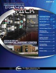 featured inside high technology newsletter - Van Meter Inc.