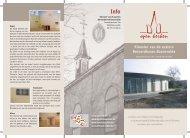Klooster van de zusters Bernardinnen Bassevelde - Open kerken