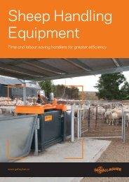Download the Sheep Handler Brochure here. - Gallagher Australia