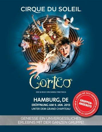 HAMBURG, DE - Cirque du Soleil