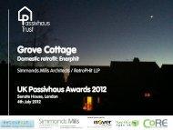 Grove Cottage – Simmonds.Mills - Passivhaus Trust