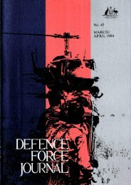 ISSUE 45 : Mar/Apr - 1984 - Australian Defence Force Journal