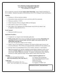 LA Links Scholarship application CT_2010 - Division of ...