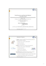 1 Grid Economy and Business Models Research Projects