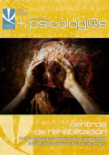 CPU 238 tapa - Coordinadora de Psicólogos del Uruguay