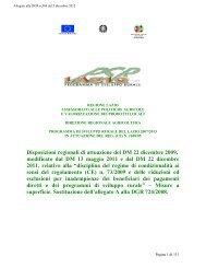 DGR 584 del 05 12 2012 - Agricoltura - Regione Lazio