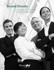Beyond Diversity - Icbdr