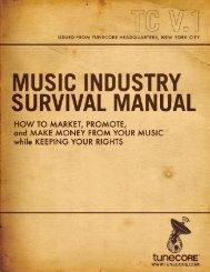 Music Industry Survival Manual.pdf - TuneCore