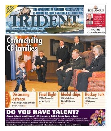 January 26, 2009 - Tridentnews.ca