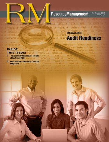 RM Publication FY 2012-3rd Quarter - Army Financial Management ...