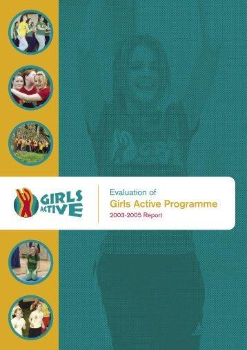 Girls Active Programme - Sligo Sport and Recreation Partnership
