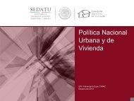 Política Nacional Urbana y de Vivienda