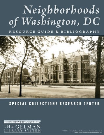 of Washington, DC - GW Libraries - George Washington University