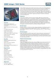 ANSI Integra 1540 Series - Crompton Western Canada Inc.