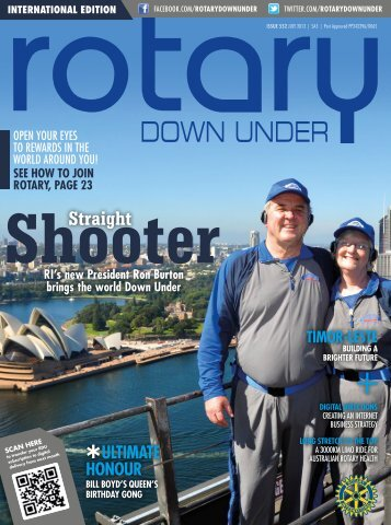 July 2013 Issue 552 - Rotary Down Under