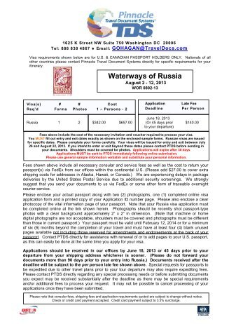 WOR 0802-13 - Travel Document Systems