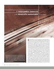 El intercambio comercial y el desarrollo sustentable - Páginas ...