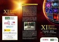 Semana de la ciencia - Instituto de Estructura de la Materia