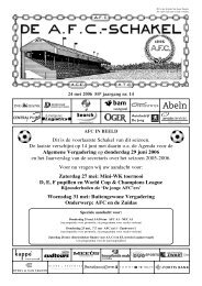 24 mei 2006, 84e jaargang nummer 14 - AFC, Amsterdam