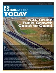 track services, please see our brochure - Railworks Corporation