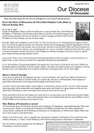 A4 PDF version - Diocese of Gloucester
