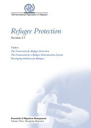 3.5 Refugee Protection - Regional Conference on Migration Virtual ...