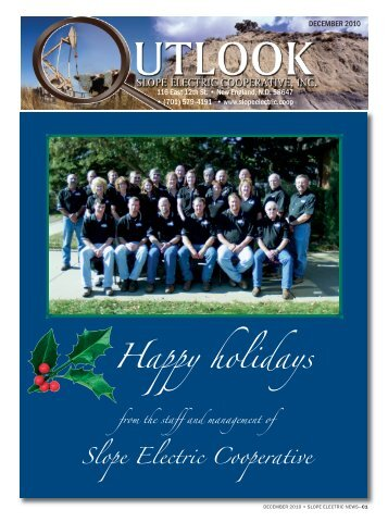 Happy holidays - Slope Electric Cooperative