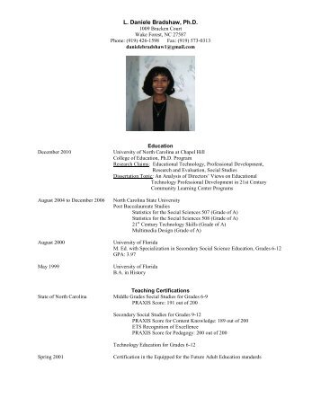 to view this professor's Curriculum Vitae