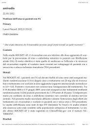Rivaroxaban-Profilassi dell'ictus in pazienti con FA.pdf - Diegori.it