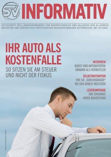 ihr auto als kostenfalle - landesverband oberösterreich und salzburg