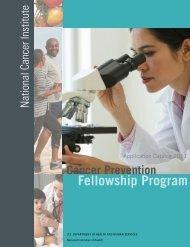 Fellowship Program - National Cancer Institute