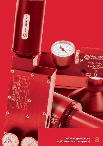 Vacuum generators - Amet