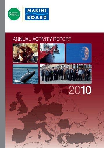 annexes - European Science Foundation