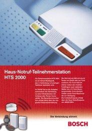 Haus-Notruf-Teilnehmerstation HTS 2000