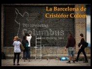 La Barcelona de Cristòfor Colom