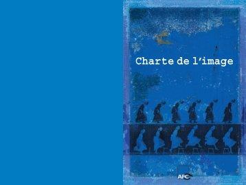 Charte de l'image - Afc