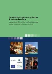 Umweltleistungen europäischer ... - SUTOUR! - Universität Stuttgart