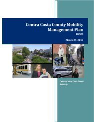 Final Draft Mobility Management Plan - The County Connection
