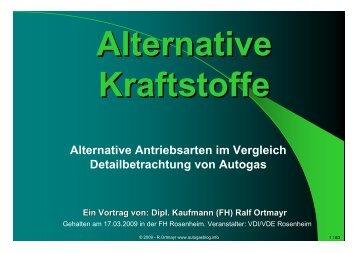 Autogas_Vortrag_Vorurteile und ... - Alternative Autogas